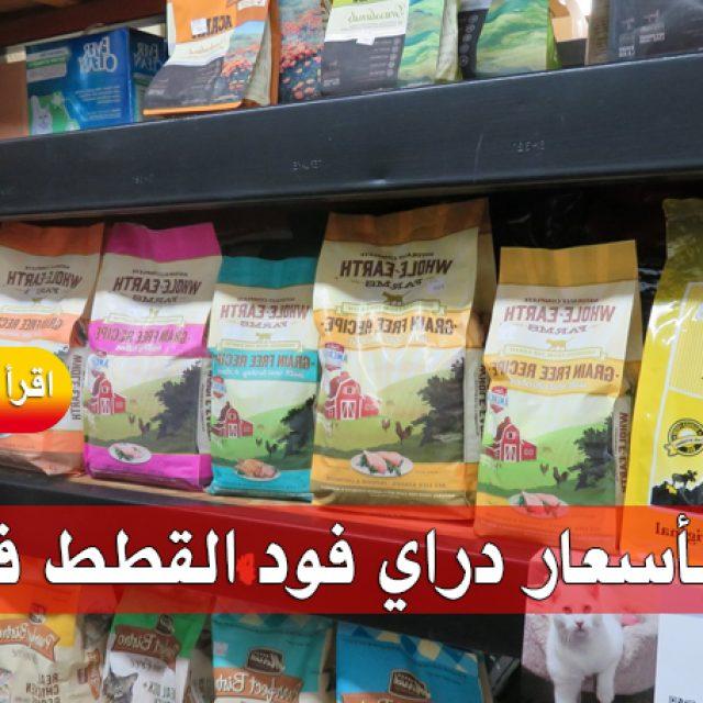أسعار دراي فود للقطط 2018 في مصر